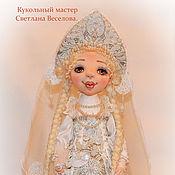 Куклы и игрушки ручной работы. Ярмарка Мастеров - ручная работа авторская коллекционная кукла СНЕГУРОЧКА. Handmade.