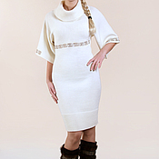 Одежда ручной работы. Ярмарка Мастеров - ручная работа Платье вязаное 4398. Handmade.