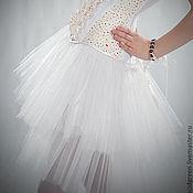 """Одежда ручной работы. Ярмарка Мастеров - ручная работа Юбка из фатина """"Magic White """". Handmade."""