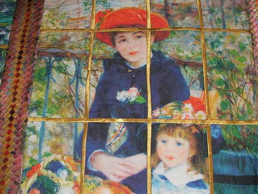 Текстиль, ковры ручной работы. Ярмарка Мастеров - ручная работа. Купить Покрывало  Магия летнего утра  Ренуар. Handmade. Покрывало