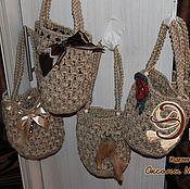Сумки и аксессуары handmade. Livemaster - original item Handbag jute