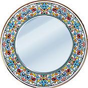 Mirror handmade. Livemaster - original item Mirror decorative 40cm.. Handmade.