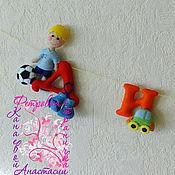 Куклы и игрушки ручной работы. Ярмарка Мастеров - ручная работа Имена из фетра для МАЛЬЧИКОВ. Handmade.