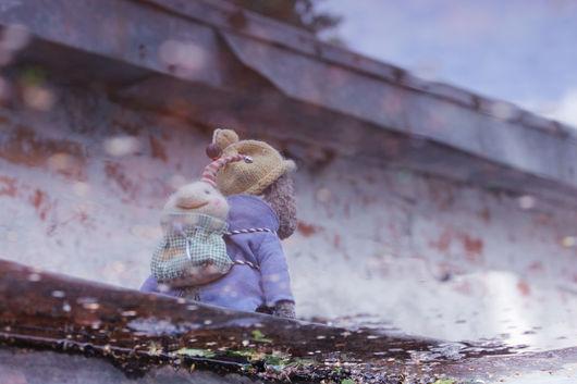 Мишки Тедди ручной работы. Ярмарка Мастеров - ручная работа. Купить Облака. Handmade. Комбинированный, счастье