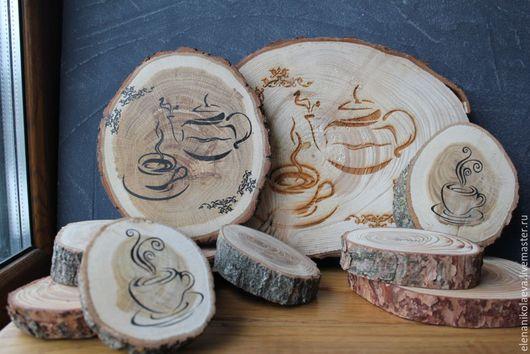 Аксессуары для фотосессий ручной работы. Ярмарка Мастеров - ручная работа. Купить Спилы дерева. Деревянные спилы для декора. Материал для творчества. Handmade.