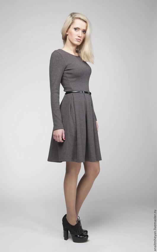 """Платья ручной работы. Ярмарка Мастеров - ручная работа. Купить Платье """"GREY"""". Handmade. Темно-серый, платье серое"""