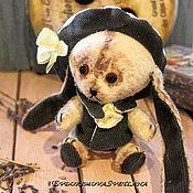 Куклы и игрушки ручной работы. Ярмарка Мастеров - ручная работа Зайка Тедди Кроша. Handmade.
