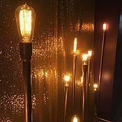 Для дома и интерьера ручной работы. Ярмарка Мастеров - ручная работа Фотозона с лампами Эдисон. Handmade.