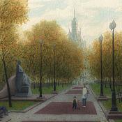 Картины и панно handmade. Livemaster - original item Making posters Moscow, Yauzsky Boulevard. Handmade.