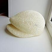 Аксессуары handmade. Livemaster - original item Straw hat hooligan. Handmade.