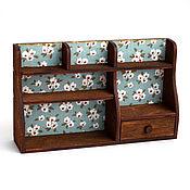 Куклы и игрушки handmade. Livemaster - original item Shelf on the table for dolls 1:6 (YoSD). Handmade.
