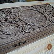 """Сувениры и подарки handmade. Livemaster - original item Нарды """"тигр"""". Handmade."""