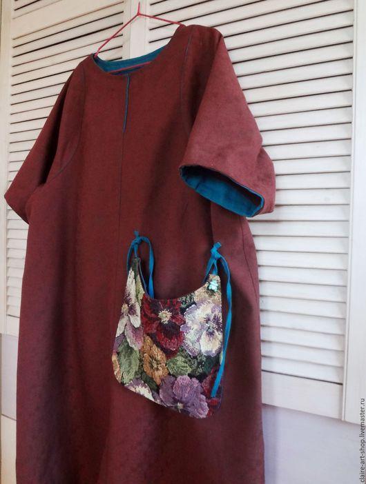 """Платья ручной работы. Ярмарка Мастеров - ручная работа. Купить Платье """"Какао со льдом"""". Handmade. Коричневый, шоколадный"""
