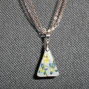 Pendants handmade. Livemaster - original item Pendant Violet fireflies. Handmade.