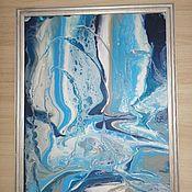 """Картины ручной работы. Ярмарка Мастеров - ручная работа Картина"""" Холодная вода """". Handmade."""