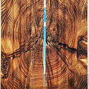 """Дизайн и реклама ручной работы. Ярмарка Мастеров - ручная работа Комплект штор """" Древесный спил"""" с фотопечатью. Handmade."""