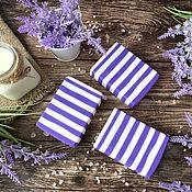 Косметика ручной работы handmade. Livemaster - original item Soap with milk of donkeys Wormwood lavender. Handmade.