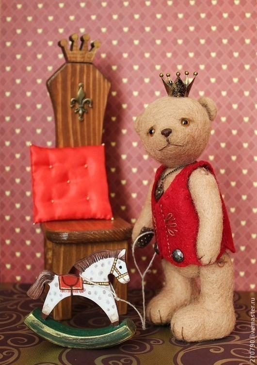 """Мишки Тедди ручной работы. Ярмарка Мастеров - ручная работа. Купить Мишка"""" Принц Людвиг 2"""". Handmade. Мишка, принц"""