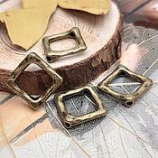 Материалы для творчества handmade. Livemaster - original item Frame for 16h2 mm beads-bronze (art. 3381). Handmade.