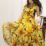 """Одежда ручной работы. Ярмарка Мастеров - ручная работа Платье """" Желтый цветок"""". Handmade."""