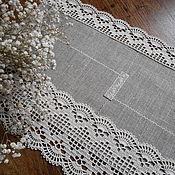 """Для дома и интерьера ручной работы. Ярмарка Мастеров - ручная работа """"Март..."""" салфеточка. Handmade."""