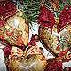 Новый год 2017 ручной работы. Набор новогодних ёлочных игрушек старый новый год. Елена Олейникова. Ярмарка Мастеров. Новогодний декор