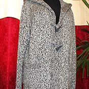 Одежда ручной работы. Ярмарка Мастеров - ручная работа Кардиган-пальто мужское. Handmade.