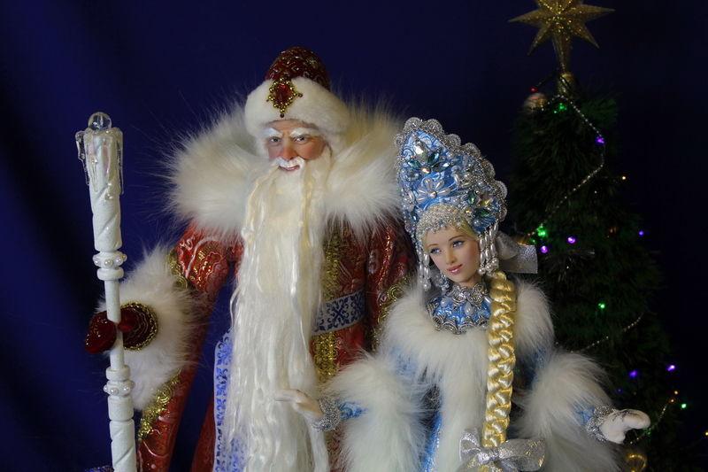 Дед Мороз и Снегурочка, Куклы и пупсы, Екатеринбург,  Фото №1