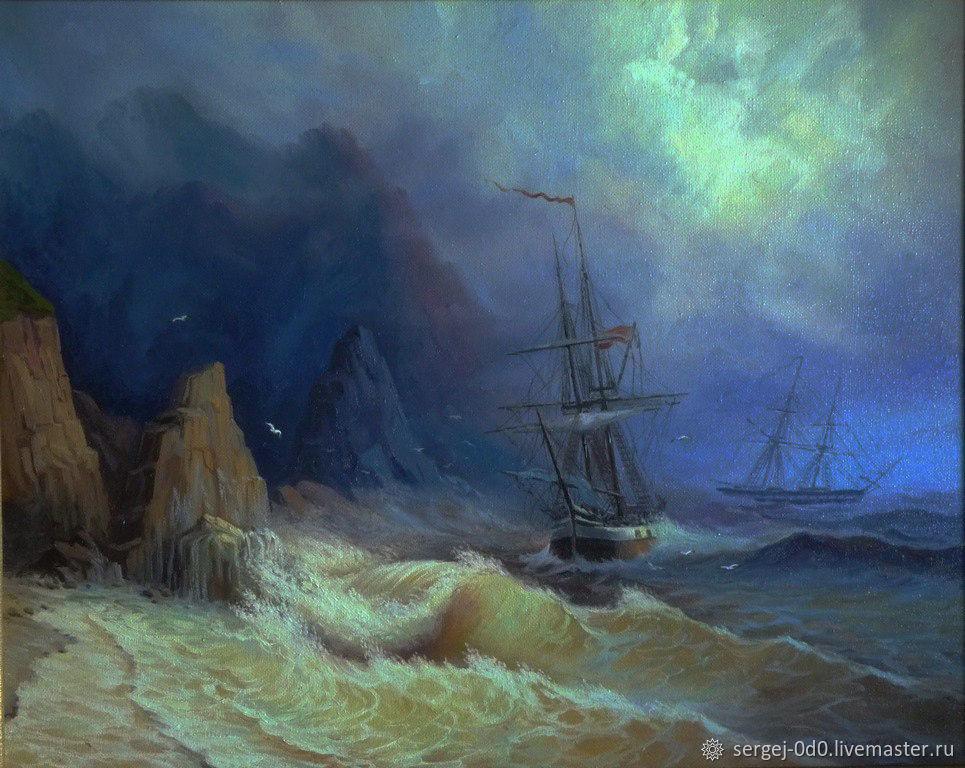 Моря пейзажи на заказ, Картины, Пенза,  Фото №1