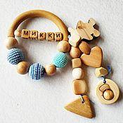 Работы для детей, handmade. Livemaster - original item Rodent-arc teether