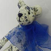 Куклы и игрушки ручной работы. Ярмарка Мастеров - ручная работа Медведь с бантом. Handmade.