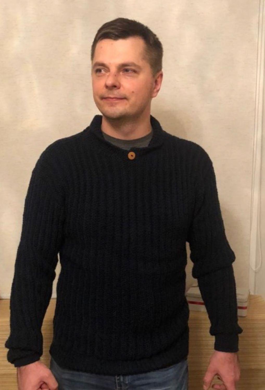 Свитер мужской вязаный, Свитеры мужские, Екатеринбург,  Фото №1