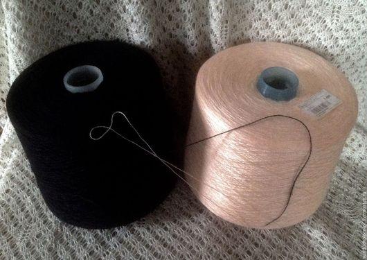 Вязание ручной работы. Ярмарка Мастеров - ручная работа. Купить Пряжа хлопок, вискоза, акрил, полушерсть. Handmade. Разноцветный, хло