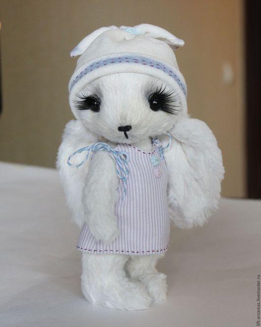 Мишки Тедди ручной работы. Ярмарка Мастеров - ручная работа. Купить Малышка Лиа.... Handmade. Зайка тедди, игрушка