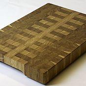 Для дома и интерьера handmade. Livemaster - original item End cutting Board №56. Handmade.
