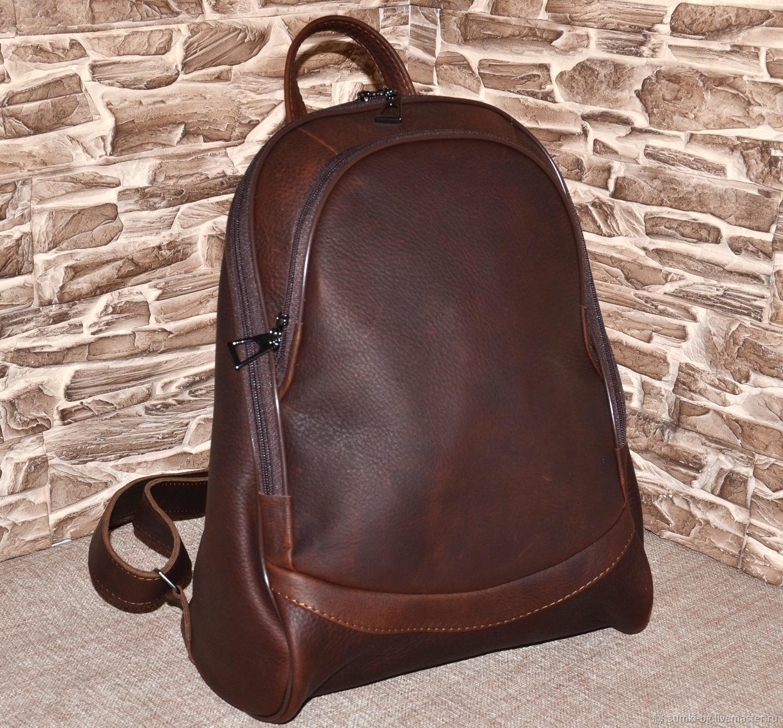 Model 146 genuine leather Backpack, Backpacks, Bogorodsk,  Фото №1