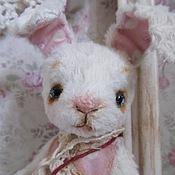 Куклы и игрушки ручной работы. Ярмарка Мастеров - ручная работа Зайка Горошинка. Handmade.