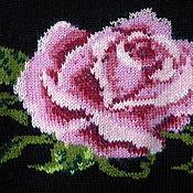 """Одежда ручной работы. Ярмарка Мастеров - ручная работа Джемпер с вышивкой""""Роза"""".. Handmade."""