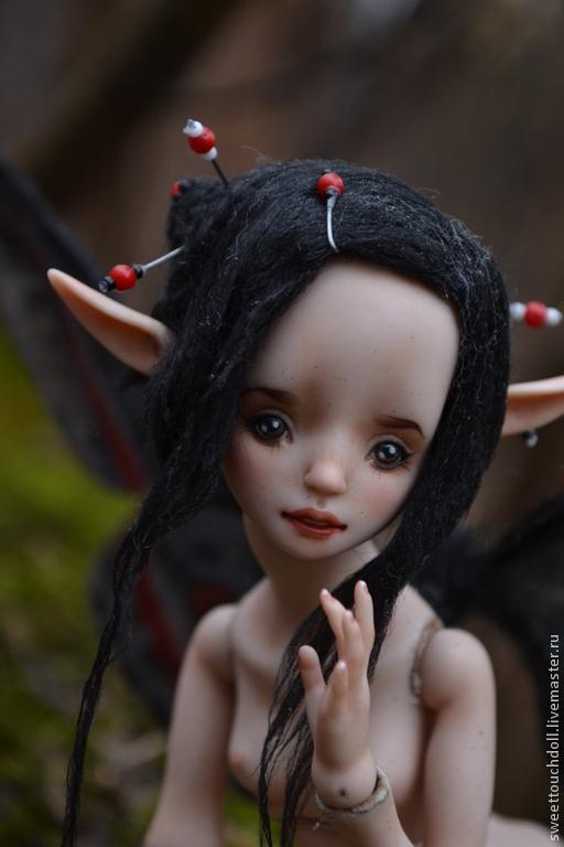 Коллекционные куклы ручной работы. Ярмарка Мастеров - ручная работа. Купить Мейли. Handmade. Кукла, подарок, коралл