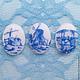 Для украшений ручной работы. Ярмарка Мастеров - ручная работа. Купить Набор из антикварных страз, кабошонов, кристалов (18х13мм). Handmade.