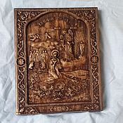 Картины и панно handmade. Livemaster - original item Icon Of The Virgin Mary