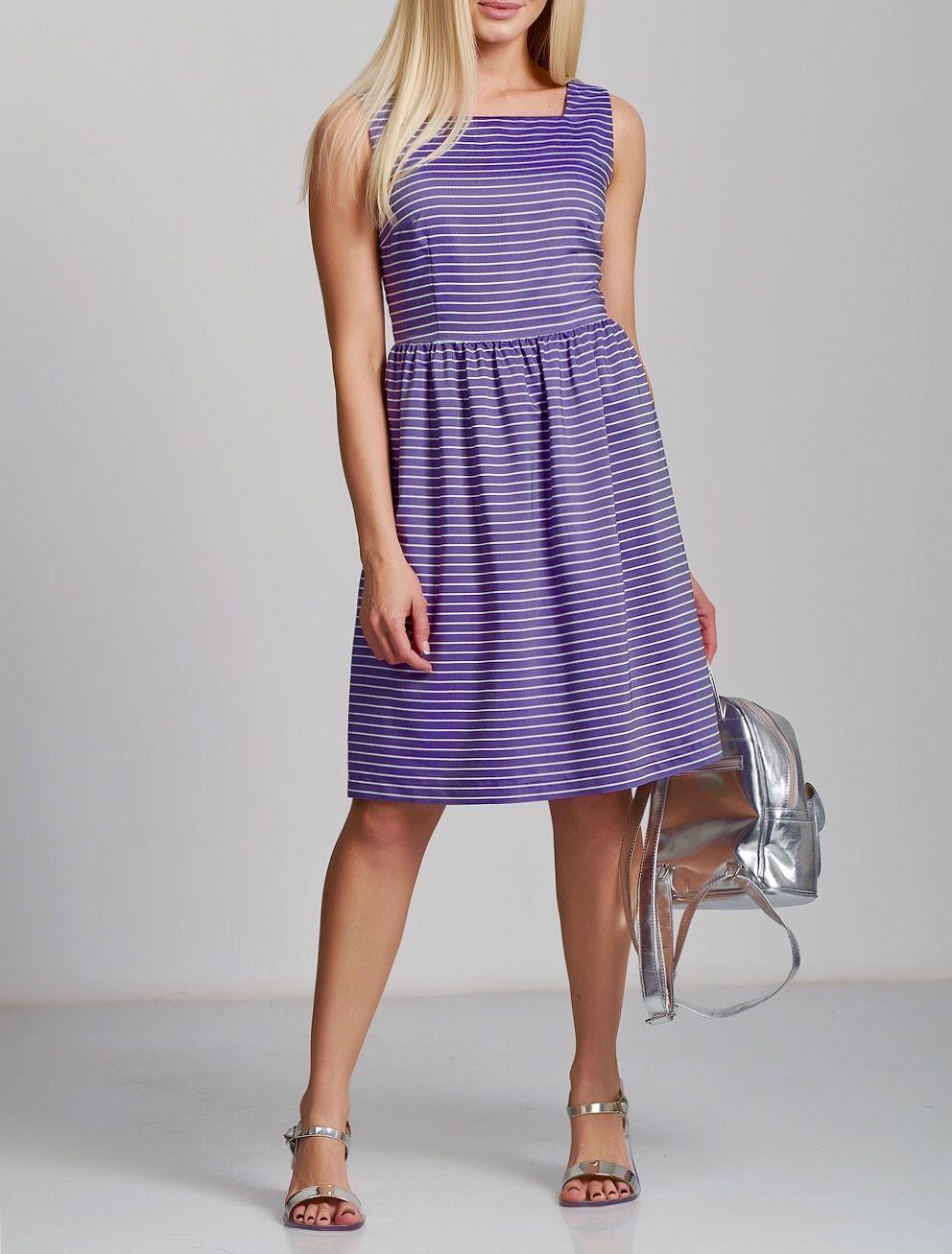 Платья ручной работы. Ярмарка Мастеров - ручная работа. Купить Платье 703 уже - 40%. Handmade. Голубой, платье с воланом