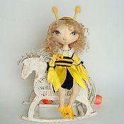 Куклы и игрушки ручной работы. Ярмарка Мастеров - ручная работа Ароматизированная кукла Чудесная пчелка. Handmade.
