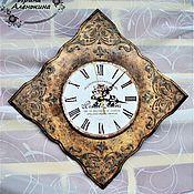 Для дома и интерьера ручной работы. Ярмарка Мастеров - ручная работа Часы. Handmade.