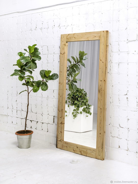 Напольное зеркало в раме. Модель 1, Зеркала, Москва,  Фото №1