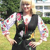 Одежда ручной работы. Ярмарка Мастеров - ручная работа Жилет Гуцулочка. Handmade.
