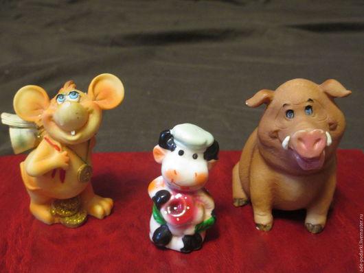 Куклы и игрушки ручной работы. Заказать Статуэтки для хомячков. Подарки для детей и взрослых (Анна). Ярмарка Мастеров. Керамика