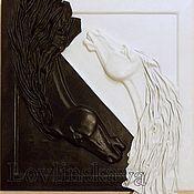 """Картины и панно ручной работы. Ярмарка Мастеров - ручная работа панно""""Душа"""". Handmade."""