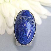 Rings handmade. Livemaster - original item Ring with lapis lazuli. Silver.. Handmade.
