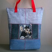 Сумки и аксессуары handmade. Livemaster - original item Shopping bag Boy. Handmade.